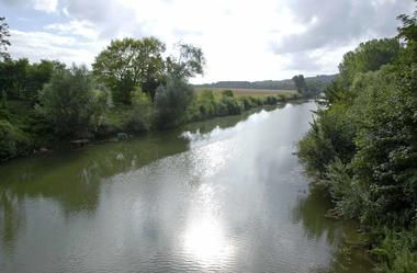 Paysage de Vailly sur Aisne