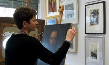 atelier de restauration de tableaux et d'objets d'arts polychrome Sylvie Ballard-Bremont © OT villers-cotterets (3)
