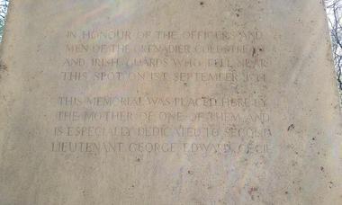 circuit du souvenir en foret de Retz - monument Passant Arrete-toi - 1ere Guerre mondiale © OT Retz-en-Valois (7)