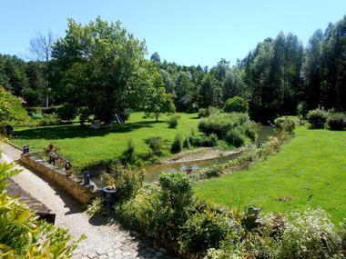le moulin de heurteville parc