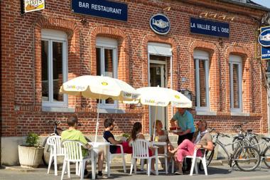 Pause repas au restaurant La Vallée de l'Oise
