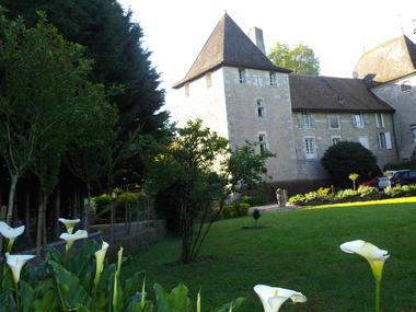 Le château de Dracy