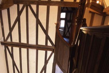 Musée de Morlaix - Escalier de la Maison à Pondalez