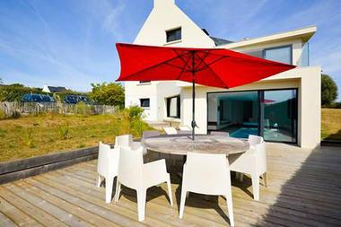 Terrase-jardin - Villa Mât Pilote