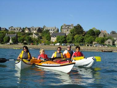A la découverte de Saint-Suliac en kayak