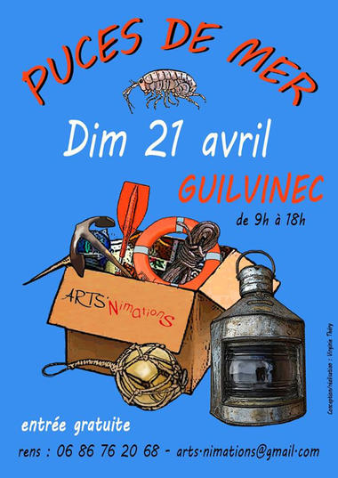Avril-21-Puces-de-mer - Guilvinec - Pays Bigouden