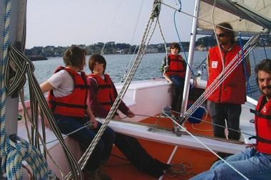 Balade voilier en Baie de Douarnenez