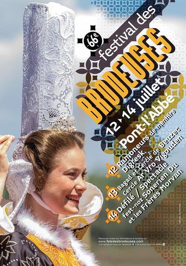 Brodeuses - Festival - Pont-l'Abbé - Pays Bigouen Sud - Bretagne