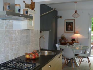 L'attrape-rêves - cuisine - Le Roc Saint André - Morbihan