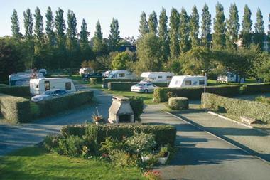Camping de Traou Mélédern