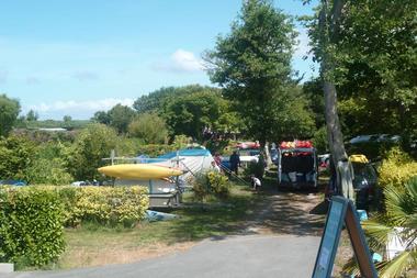 Camping la Plage de Goulien