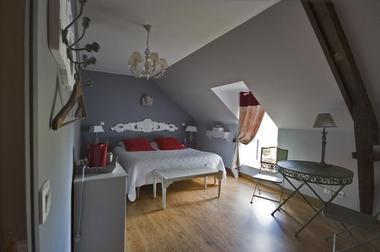 Chambres de charme le Moulin de la Béraudaie, chambre Guenièvre