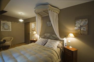 Chambres de charme le Moulin de la Béraudaie, chambre Merlin