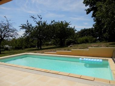 Chez Karine et David - piscine