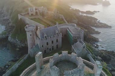 Château de La Roche Goyon  Fort La Latte