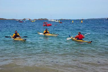 Découverte de l'archipel de Bréhat en kayak
