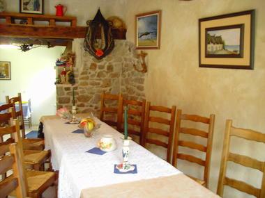 Gîte Les Balcons de la Baie (salle à manger)