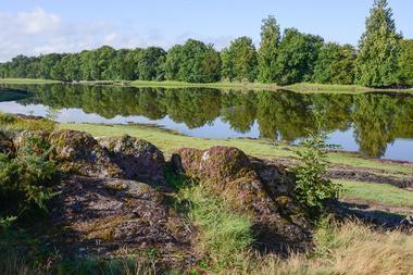 Parc du Château de Comper, forêt de Brocéliande, Destination Brocéliande