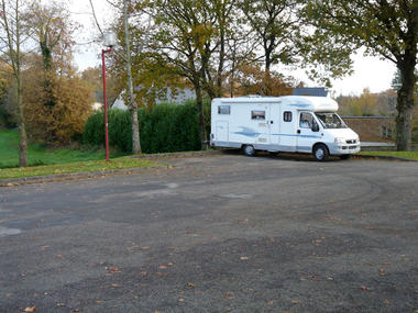 St Guyomard aire de camping-car