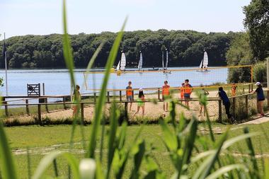 Sport au Lac de Trémelin Iffendic Bretagne