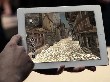 Visite virtuelle de Josselin au XVIème siècle - Josselin - Morbihan - Bretagne
