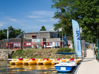 Club nautique - embarcation - lac au Duc - Taupont - Brocéliande - Bretagne