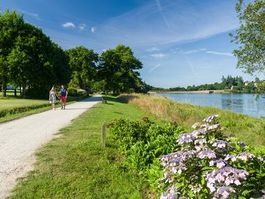 Circuit des hortensias - lac au Duc - Ploërmel - Morbihan - Bretagne