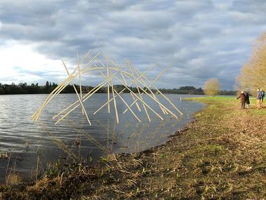 exposition - étangs d'art - lac au Duc - Ploërmel communauté - Bretagne