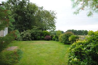 jardin gîte le Cormier
