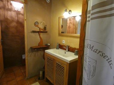 Salle d'eau  La Claie des Landes - Sérent - Morbihan - Bretagne