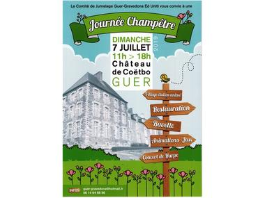 fête champêtre Château de Coëtbo Guer Destination Brocéliande