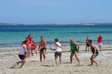 Matchs de Beach Rugby