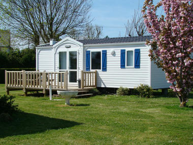 Camping Ariane - Merville Franceville - mobil home 1