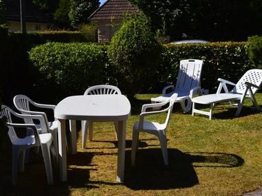 Chez Mme Ragot - le jardin
