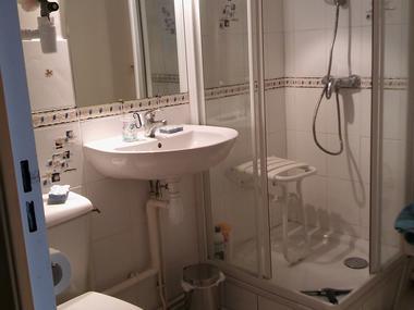 La Mervillette salle de douche
