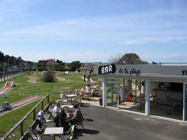 Terrasse Bar de la plage Merville-Franceville-Plage