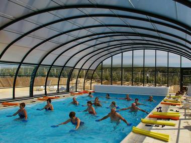 Village Vacances Cap France Bon Séjour, Merville Franceville, piscine 2