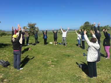 Yoga pleine nature en Baie de l'Orne