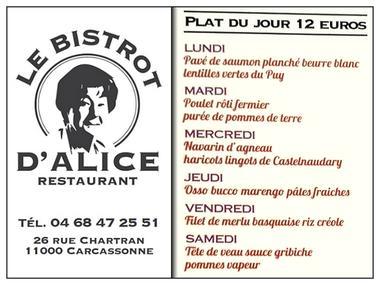 LE BISTROT D'ALICE