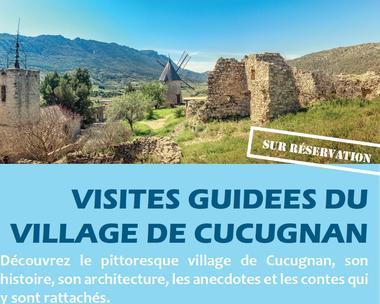 VISITES GUIDEES DU VILLAGE DE CUCUGNAN