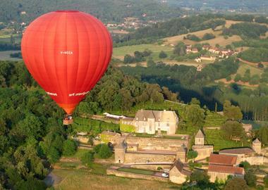 Montgolfière et Châteaux