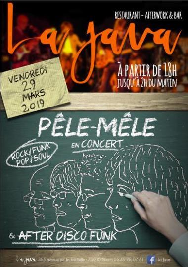 Pêle-Mêle en concert le 29 mars 2019