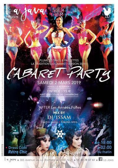 Cabaret Party le 2 mars 2019