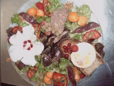 Assiette Restaurant Rouffillac redim