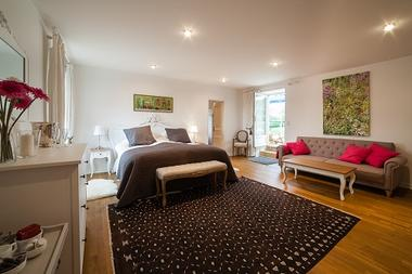 Chambre lit double le Manoir redim