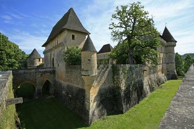 Chateau de losse_douves
