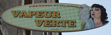 Logo Vapeur Verte red
