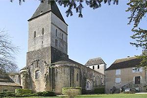 Tourtoirac - Eglise Abbatiale de Tourtoirac