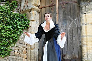 la Belle Sarladaise, visite théâtralisée