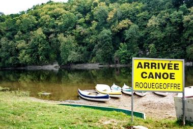 Aux canoës de Roquegeoffre